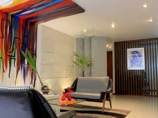OFICINA LC ARQUITECTURA: Estudios y oficinas de estilo  por LC Arquitectura