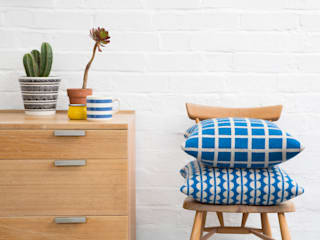 Grid & Spot Cushions:   by Seven Gauge Studios