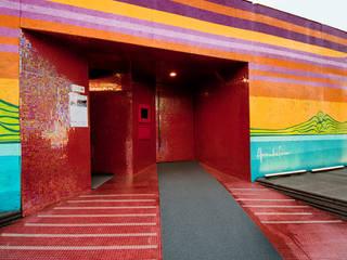 Salones de eventos de estilo  por Tatiana Junkes Arquitetura e Luminotécnica, Moderno