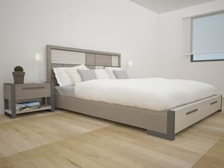 Modern Bedroom by Teorema Arquitectura Modern