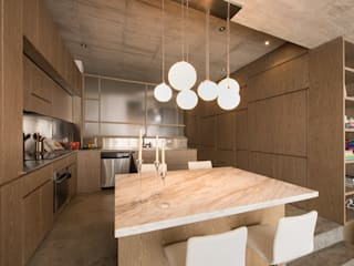 Nowoczesna kuchnia od MEMA Arquitectos Nowoczesny