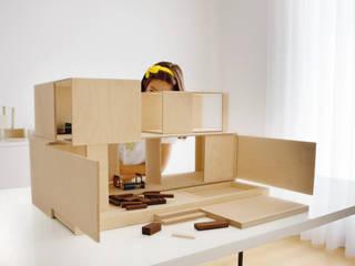 MODULAR HOUSE RAW par Mini Archi Minimaliste