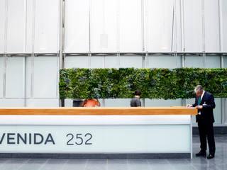 de Wonder Wall - Jardins Verticais e Plantas Artificiais Moderno