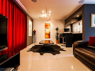Living room by QUALIA, Eclectic