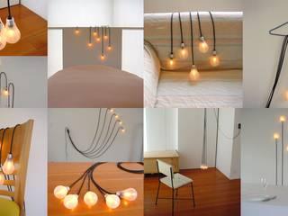 照明プロダクト「5b-e ふぅっと幸福の5つの電球たち」 アッシュ・ペー・フランス株式会社 アートその他アート作品