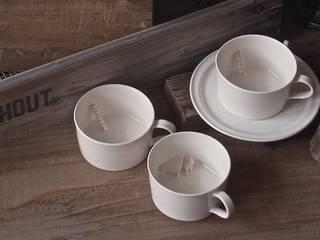 モチーフカップ: モノエが手掛けた現代のです。,モダン
