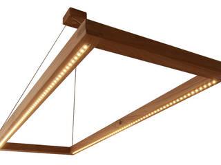 Hängelampe Eiche mit LED:   von Schreinerei Möbel - Holzsport Häupler