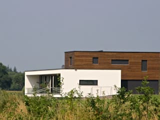 Prachtige villa op bijzonder landgoed in De Achterhoek Moderne huizen van ARX architecten Modern