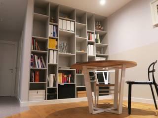 Szafawawa WohnzimmerRegale Holzspanplatte Grau