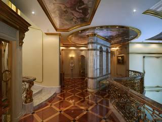 Classic style corridor, hallway and stairs by Design studio of Stanislav Orekhov. ARCHITECTURE / INTERIOR DESIGN / VISUALIZATION. Classic