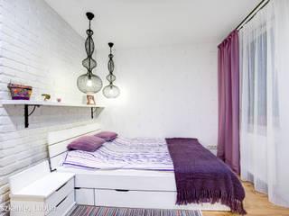 Auraprojekt Phòng ngủ phong cách mộc mạc