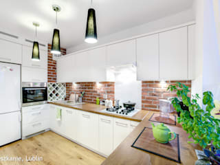 rustic Kitchen by Auraprojekt