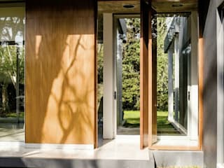Casa AP Balcones y terrazas de estilo moderno de Felipe Gonzalez Arzac Moderno