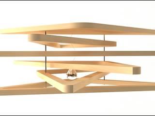 Triangulum lamp por Joana Magalhães Francisco Minimalista