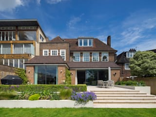 Hampstead Village Home Casas estilo moderno: ideas, arquitectura e imágenes de KSR Architects Moderno