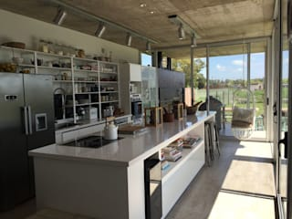 Casa Q Felipe Gonzalez Arzac Dapur Modern