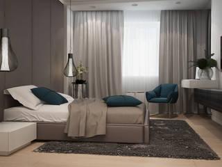 Habitaciones de estilo minimalista de GK DESIGN Minimalista