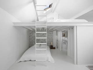 Habitation LAR Chambre minimaliste par adn architectures Minimaliste