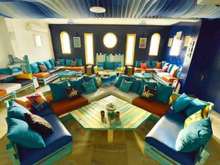 Z-LOUNGE Mediterranean style bars & clubs by Priyanka Arjun and Associates Mediterranean