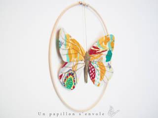 Azuré - Mobile papillon par Un papillon s'envole Éclectique