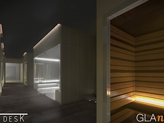 glaNce spa_Hotel Nhow: Hotel in stile  di Arkinprogress