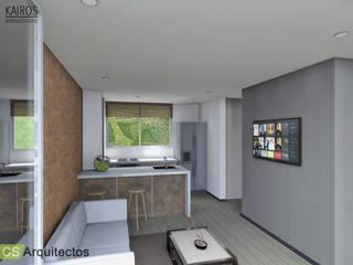 Kairos Apartaestudios Cocinas de estilo minimalista de CS Arquitectos Minimalista