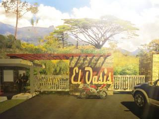 el Oasis de John J. Rivera Arquitecto