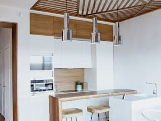 Eclectic style kitchen by Yucubedesign Eclectic