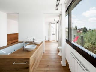 Projekty,  Łazienka zaprojektowane przez Alex Gasca, architects.