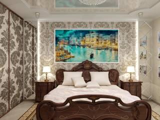 Классическая спальня: Спальни в . Автор – Цунёв_Дизайн. Студия интерьерных решений.