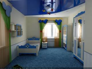 Дизайн детской в морском стиле: Детские комнаты в . Автор – Цунёв_Дизайн. Студия интерьерных решений.