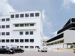 "Planta de Vacunas del Instituto Nacional de Higiene ""Rafael Rangel"" PA - Puchetti Arquitectos Hospitales Gris"
