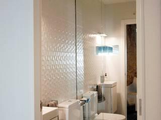 Ванные комнаты в . Автор – cota-zero, tenica y construcción integrada, s.l., Рустикальный