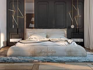Minimalistische slaapkamers van Derya Bilgen Minimalistisch