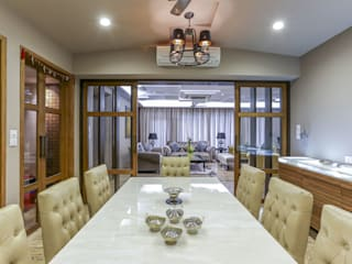 Kabra House: modern Dining room by Spaces and Design