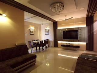 Harish Bhai Modern dining room by PSQUAREDESIGNS Modern