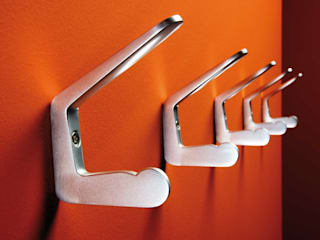rosconi GmbH Corridor, hallway & stairsClothes hooks & stands Metallic/Silver