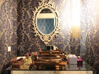Single Living Room Modern Banyo Orkun İndere Interiors Modern