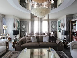 Single Living Room Modern Oturma Odası Orkun İndere Interiors Modern