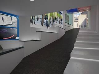 Locaux commerciaux & Magasin modernes par Pardo Gaetano Architetto Moderne