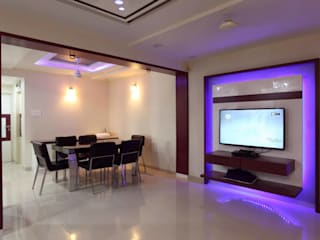YOGESH KATARIA-VALSAD Modern dining room by PSQUAREDESIGNS Modern