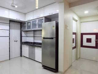 Modern Kitchen by PSQUAREDESIGNS Modern