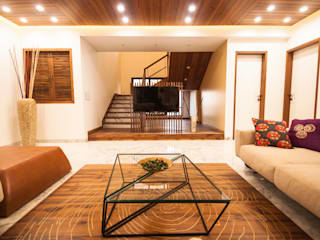 Anmi Residence Modern living room by andblack design studio Modern