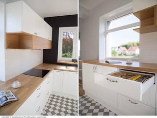 Scandinavian style kitchen by DoMilimetra Scandinavian