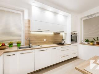 Kuchnia na wymiar w minimalistycznym stylu od 3TOP Minimalistyczny