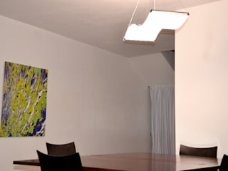 Dietmar Tappe revolite Living roomLighting Iron/Steel Transparent
