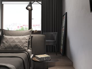 Shevchenko_Nikolay Modern style bedroom