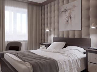 Modern style bedroom by Shevchenko_Nikolay Modern
