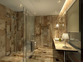 Modern bathroom by Sneha Samtani I Interior Design. Modern