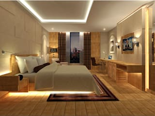 Grand Design:  Bedroom by Sneha Samtani I Interior Design.